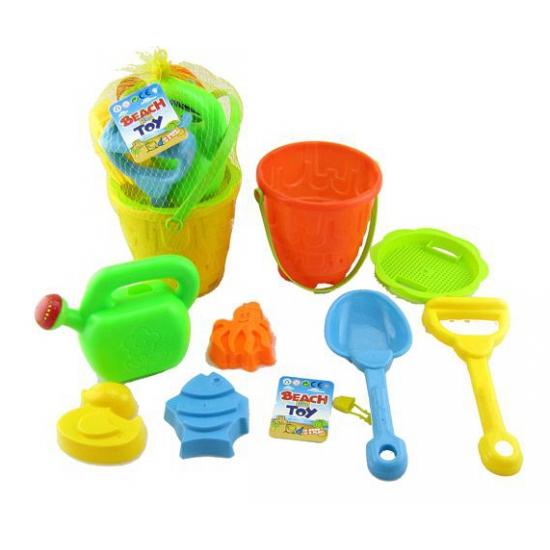 Acht delige strand speelgoed voor kinderen