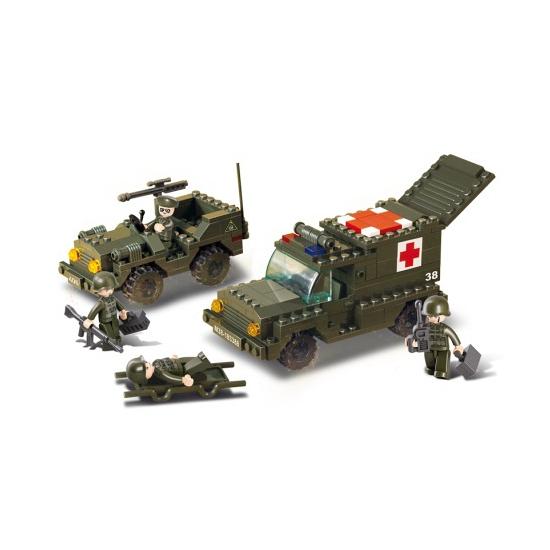 Ambulance bouw blokjes
