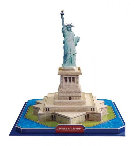Amerikaanse vrijheidsbeeld 3D Puzzel