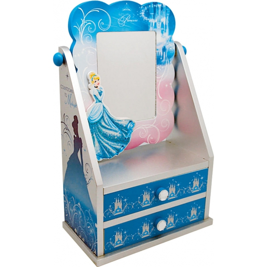 Assepoester thema kastje met spiegel