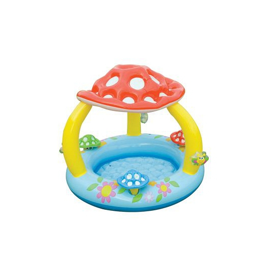 Baby paddenstoel zwembad
