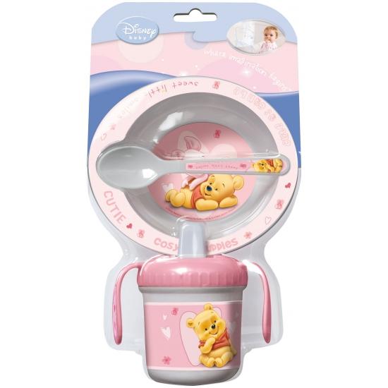 Baby servies plastic Winnie de pooh