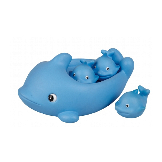 Bad dolfijntjes blauw