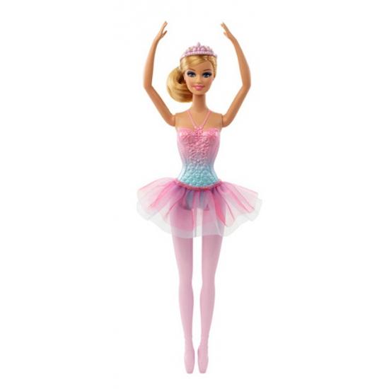 Barbie ballerina met roze tutu