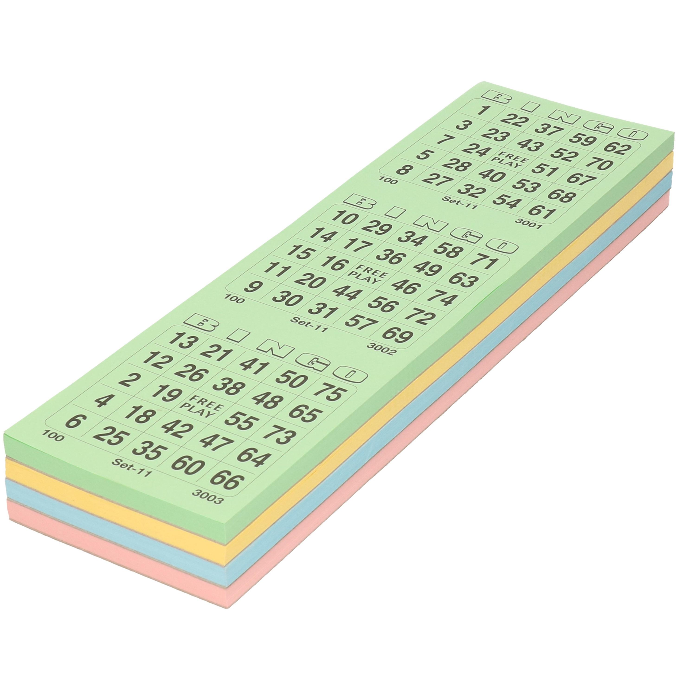 Bingoblokken om Bingo mee te spelen
