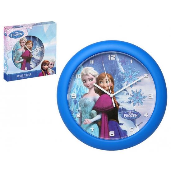 Blauwe klok van Elsa en Anna uit Frozen