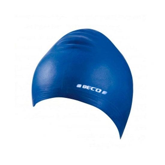 Blauwe siliconen badmuts voor kids
