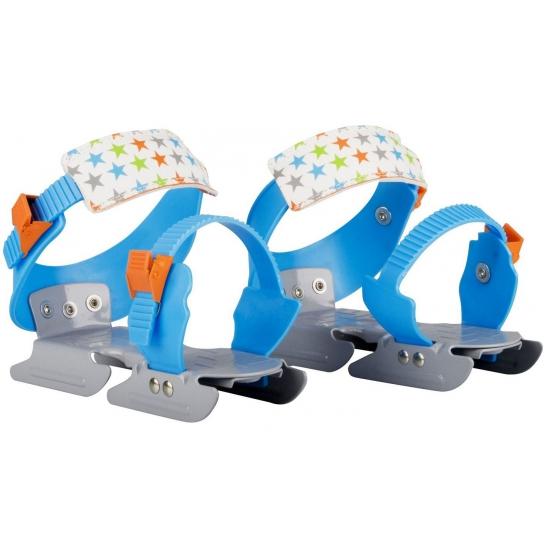 Blauwe verstelbare schaatsen