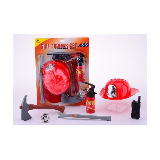 Brandweer speelgoed set