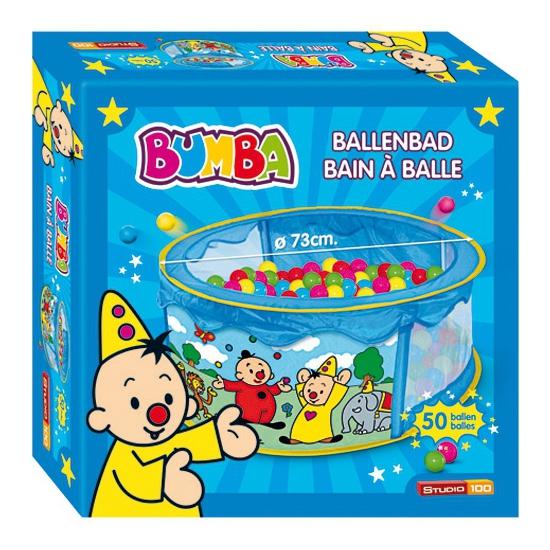 Bumba ballenbak met 50 balletjes