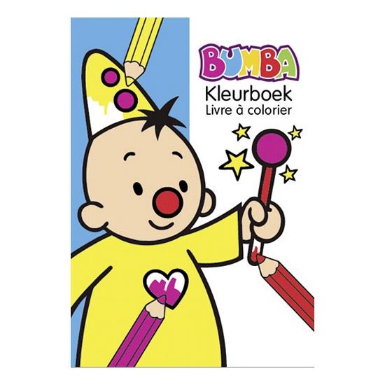 Bumba kleurplatenboek