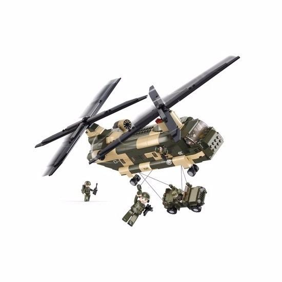 Chinook helikopter bouwsteentjes