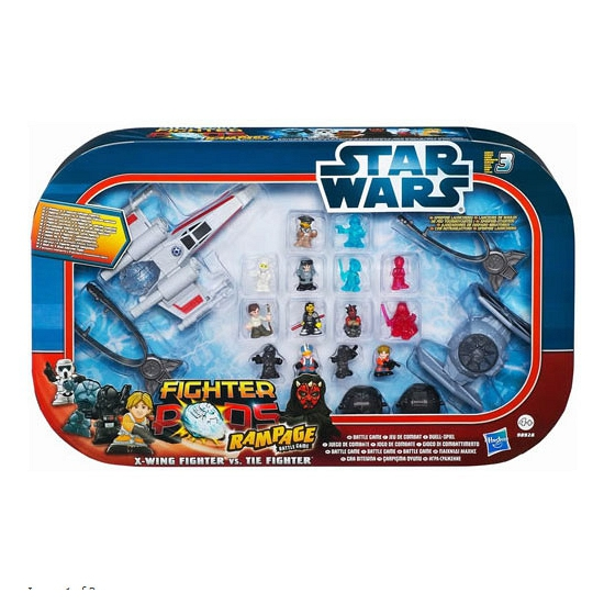 Complete Star Wars vechtspel set