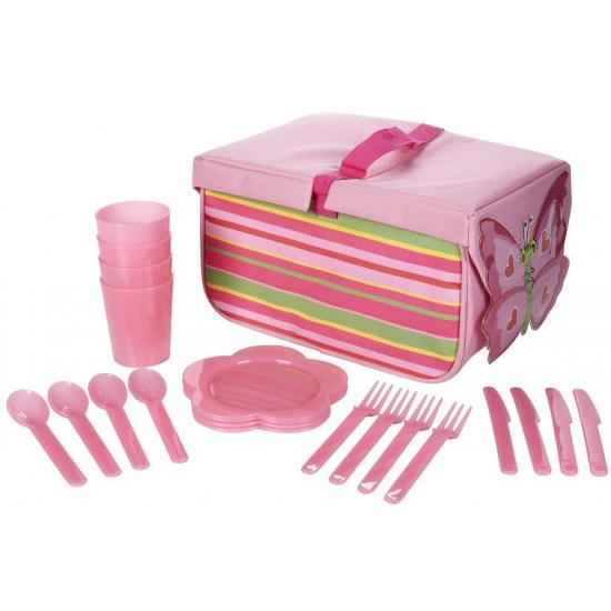 Complete vlinder picknick set