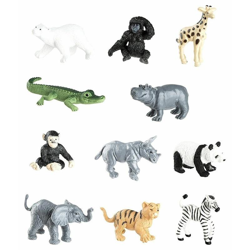 Dierentuin speelgoed dieren