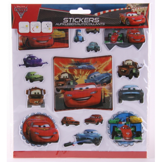 Disney 3D kinderstickers Cars