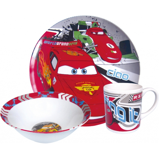 Disney Cars bordjes met kop