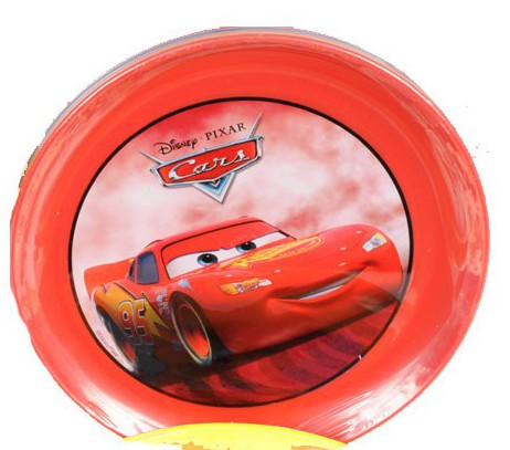 Disney Cars plastic bordjes