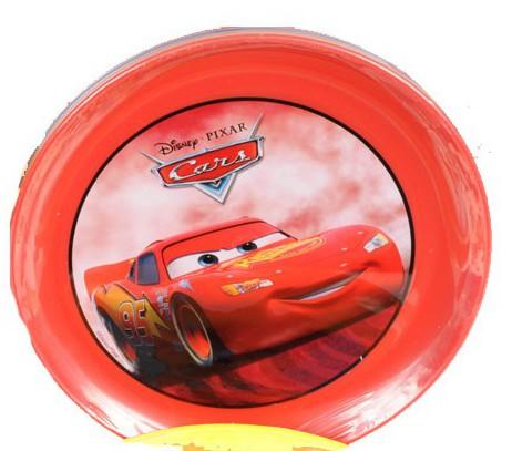 Disney Cars plastic bordjes