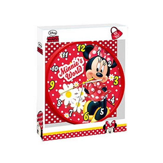 Disney Minnie Mouse muurklok 25 cm
