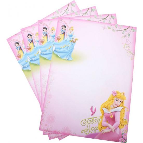 Disney Princess A4 schrijfpapier 20 vellen