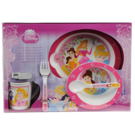 Disney Princess plastic servies set 5 delig