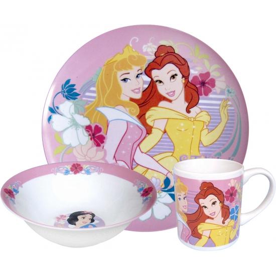 Disney prinsessen bordjes met kop