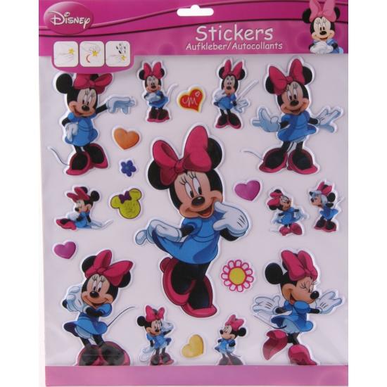 Disney textiel kinderstickers Minnie Mouse