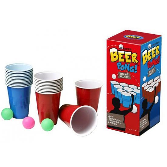 Drankspelletje Beer Pong