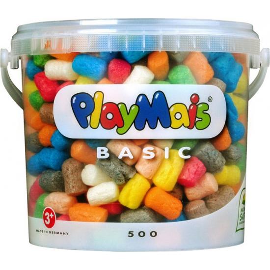 Emmer met 500 PlayMais vlokken