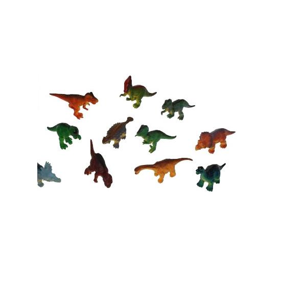 Feestartikelen dinosaurus plastic 16 cm