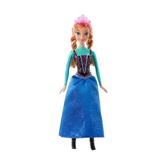 Frozen Anna speel pop