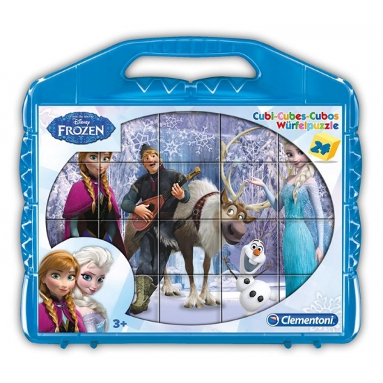 Frozen kubus puzzels 6 x