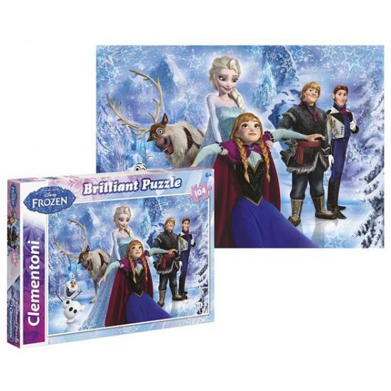 Frozen puzzel Brilliant 104 st