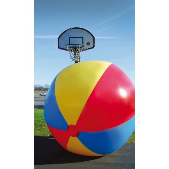 Fun strandbal gekleurd 3 meter