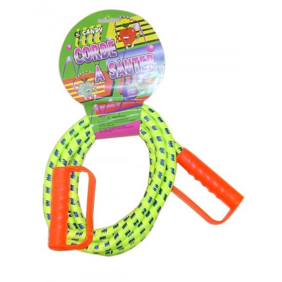 Gekleurd speel springtouw 230 cm