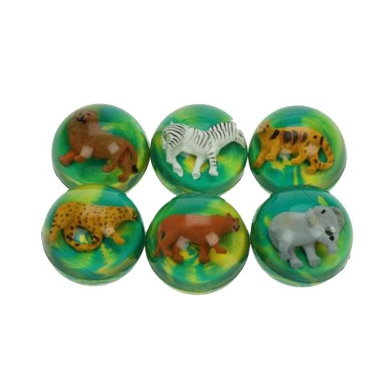 Gekleurde stuiterbal met luipaard