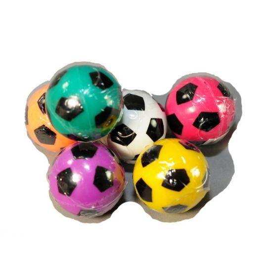 Gekleurde voetbal stuiterbal