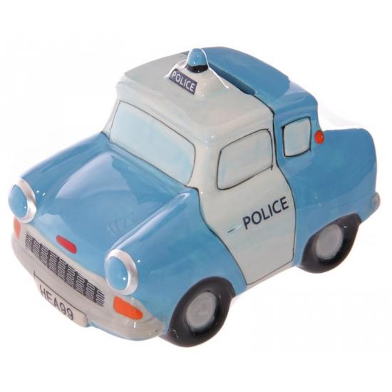 Geld spaarpot politie auto 13 cm