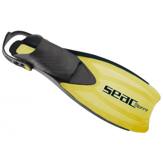 Gele Seac flippers verstelbaar