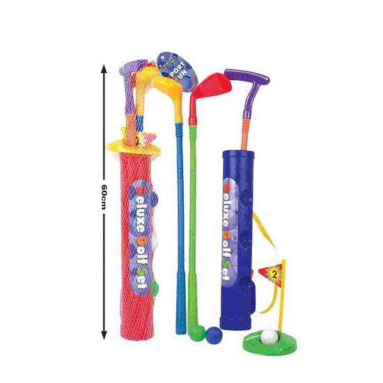 Golf spel van plastic