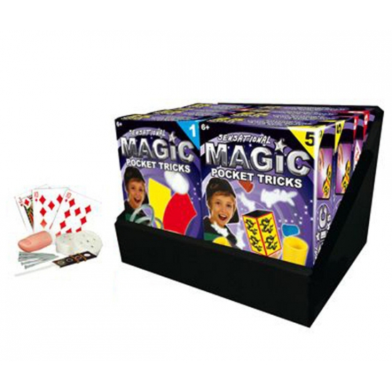 Goochel truc 3 magie en kaarten 8 delig