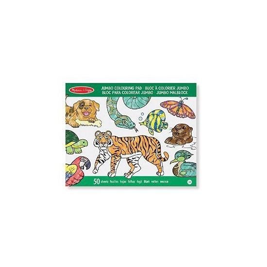 Groot dieren kleurboek voor kinderen