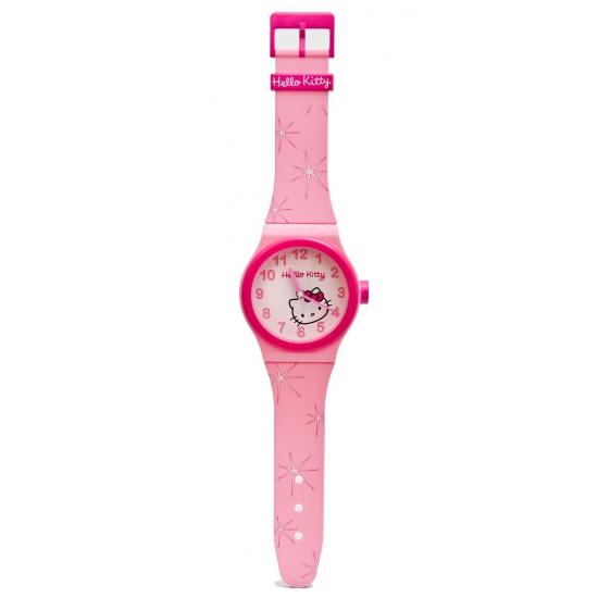 Hello Kitty klokken roze 95 x 20 cm