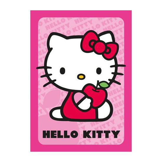 Hello Kitty speelmat roze