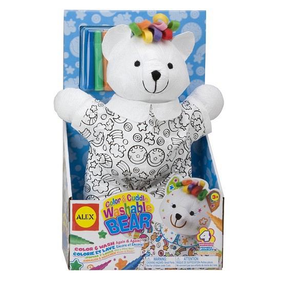 Hobbyset teddybeer inkleuren