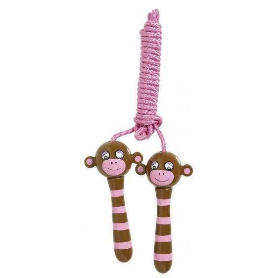 Houten hendels springtouw chimpansee