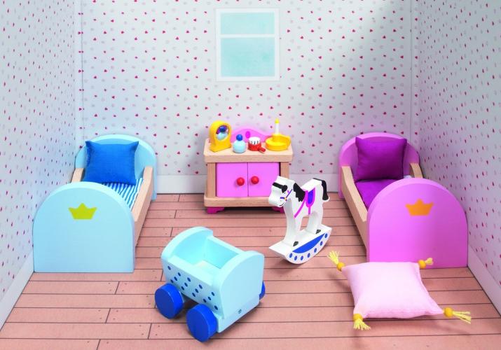 Houten speelgoed meubels kinderkamer