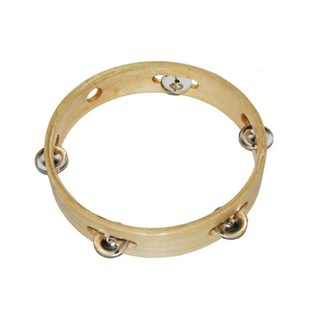 Houten tamboerijn instrument 20 cm