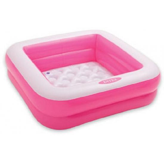 Intex play box roze zwembad 85 x 85 cm
